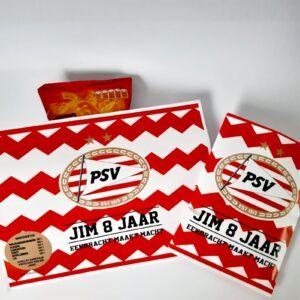 Traktatie chipswikkel PSV